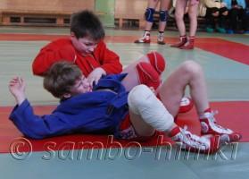 Команда Самбо-Химки  на тренировке по САМБО, 15 марта 2008 года